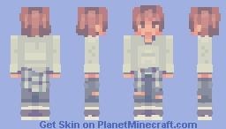 plaid lad Minecraft Skin