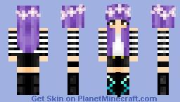 Flower Power - Girl Minecraft Skin