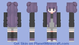 New hair shading style? Minecraft Skin