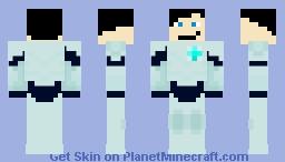 Jim Lake, Jr In Daylight Armor - Trollhunters Minecraft Skin