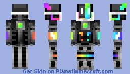 Rainbow glow heavy 279 Minecraft