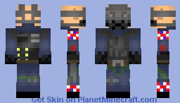 Sledge | Rainbow Six Siege Minecraft Skin
