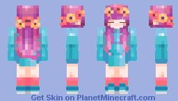 ~✿~𝕾𝖙𝕷𝖊𝖊 ~✿~ Fallen Spring    Trader's Re-S Contest    CE Minecraft Skin