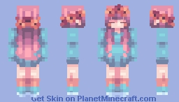 """✰ ℂ𝕙𝕒𝕓𝕚𝕝𝕦𝕝𝕦 ✰ """"It's easier to say I'm fine"""" [CE] Trader's contest ✰ Minecraft Skin"""