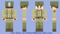 Call of Duty WW2 - Turner Minecraft Skin