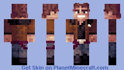 Han [Solo: a Star Wars Story] Minecraft Skin