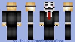 Hacker Doge Minecraft Skin