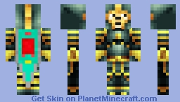 Doge Knight Minecraft Skin