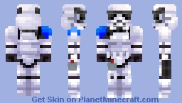 Star Wars | Imperial 501st Legion Commander Minecraft Skin
