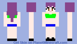 Bad girl Minecraft Skin