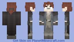 𝓡𝓸𝔃𝒆    Medieval   Ditsy Inventor Minecraft Skin
