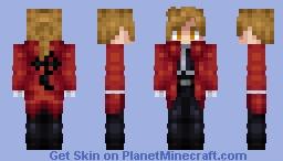 Alphonse Elric (Human) (FMA 2003 Ending) Minecraft Skin