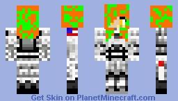 astronaut girl Minecraft Skin