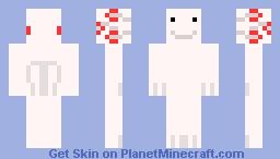 Axolotl Minecraft Skin