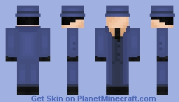 The Question (DCAU) Minecraft Skin