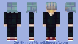 BNHA Shigaraki Tomura Minecraft Skin
