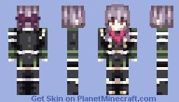 Shinoa Hiragi ~ Owari No Seraph Minecraft Skin