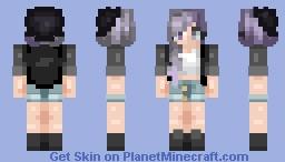. 101 . | ♫*.:。яєℓιєf。:.*♫ Minecraft Skin