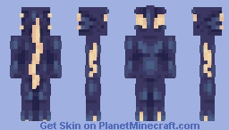 take me to the blue [contest entry] Minecraft Skin