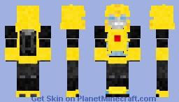G1 Bumblebee Minecraft Skin