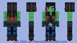 Gamora-MARVEL Minecraft Skin