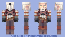 "Geralt of Rivia ""The Witcher"" Minecraft"