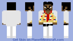 Lando Calrissian (White outfit) - Solo: A Star Wars Story Minecraft Skin
