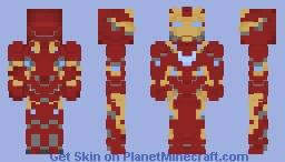 iron man infinity war Minecraft Skin