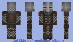 Leather/Chain Armor Minecraft Skin