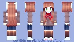 [DDLC] Monika Minecraft
