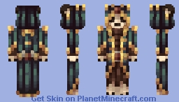 The Bearing of Mages - Benvolence Minecraft Skin