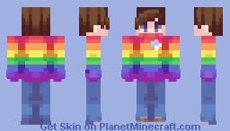 rainbows || persona Minecraft Skin
