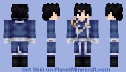 Roy Mustang (FullMetal Alchemist) Minecraft Skin