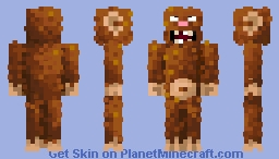 Big foot  (updated) Minecraft