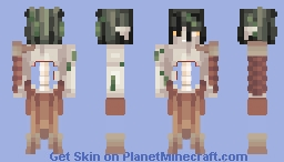 Ocean Depths + Drawing & Story Minecraft Skin