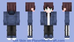 Hi. Minecraft Skin
