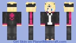 Boruto With the Jougan Eyes or Byagukan! Minecraft Skin