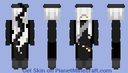 Undertaker//Black Butler Minecraft Skin