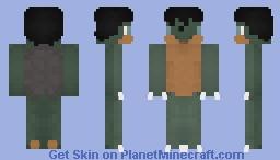 The Kappa Minecraft Skin