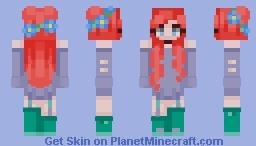 ♡ Red Sea Princess ♡ Minecraft Skin