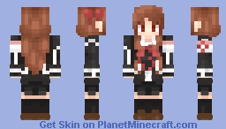 Yuki Cross / Yuki Kuran - Vampire Knight Minecraft Skin