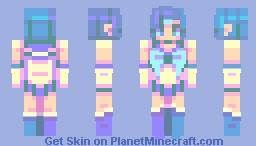 S a i l o r M e r c u r y Minecraft Skin