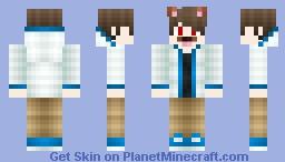 Vampire Dog Human Minecraft Skin