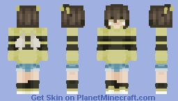 Bumble Bee Child ovo (OC) Minecraft Skin