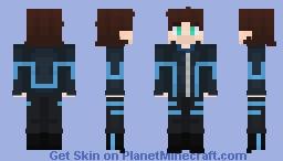 Aqua ( Alixian Outfit) Minecraft Skin