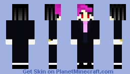 Darkiplier  Minecraft Skin