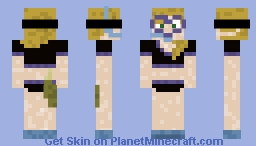 Deep Sea Treasure Huntress Minecraft Skin