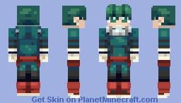 """Izuku """"Deku"""" Midoriya (My Hero Academia) Minecraft Skin"""