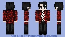 Yet another Kookjung Minecraft Skin