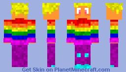Palmeira Citrine ~ Pride Edition Minecraft Skin